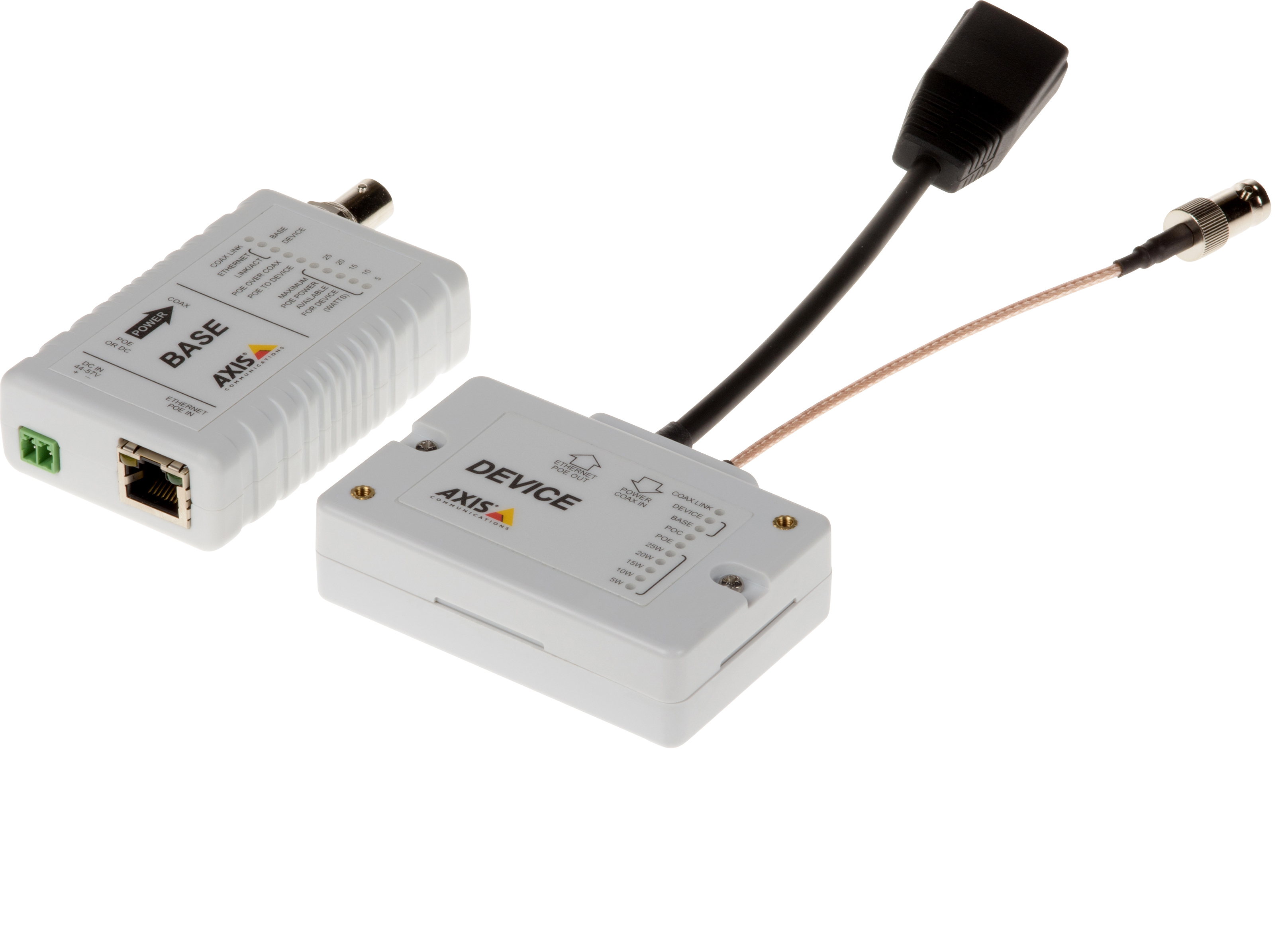 AXIS T8645 PoE+ over Coax Compact Kit
